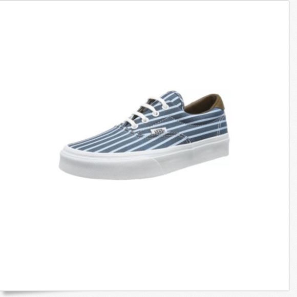 d9a6eb39bf Vans Era 59 Stripes Blue True White Shoes
